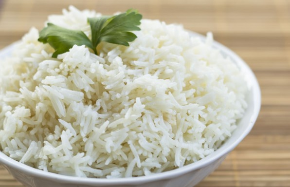 receta de arroz hervido basmati