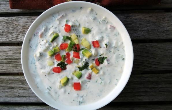 receta de ensaladas en la india