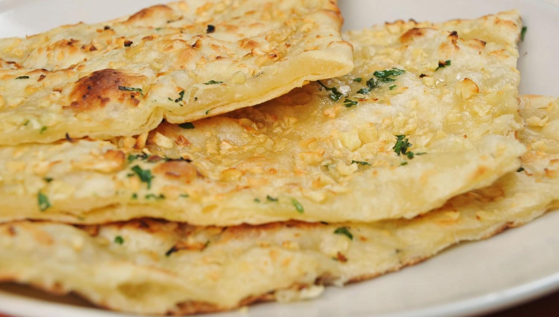 Indian Garlic Naan Recipe — Dishmaps