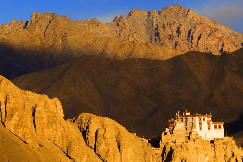 monasterio en ladakh