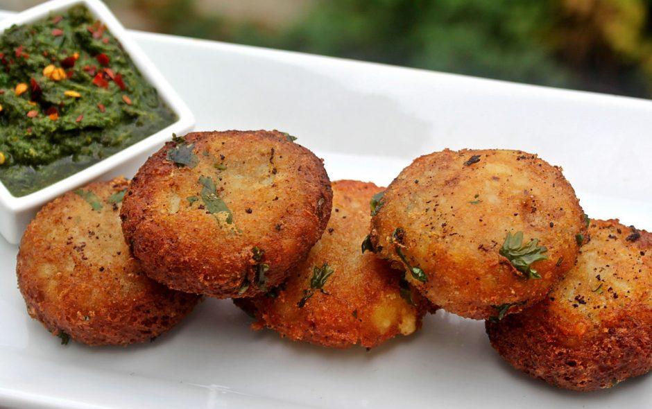 Aloo tikki croquetas de patata indias forumfinder Gallery