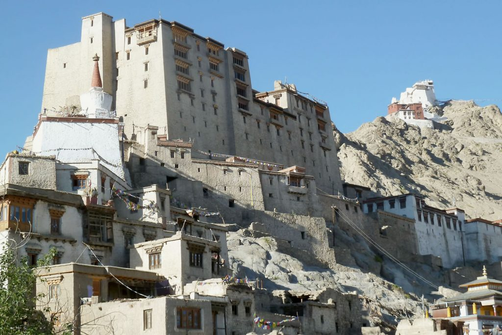 pequeño potala en ladakh