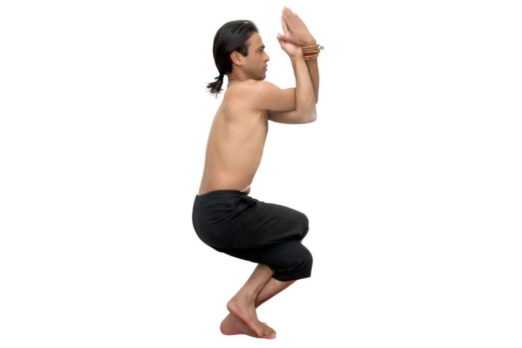 el aguila y el yoga