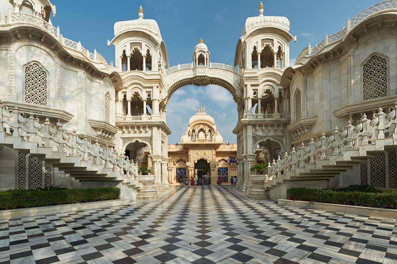 templo en Vindravan