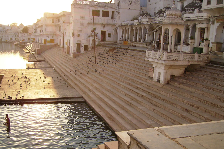 ghats de Pushkar