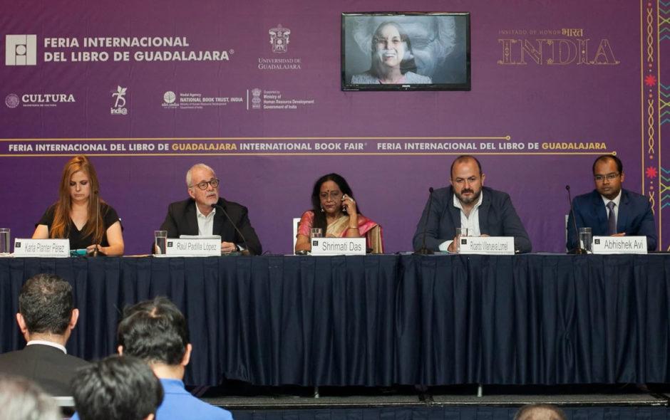 India en la Feria del Libro de Guadalajara