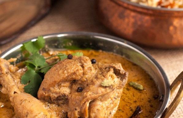 curry de pollo