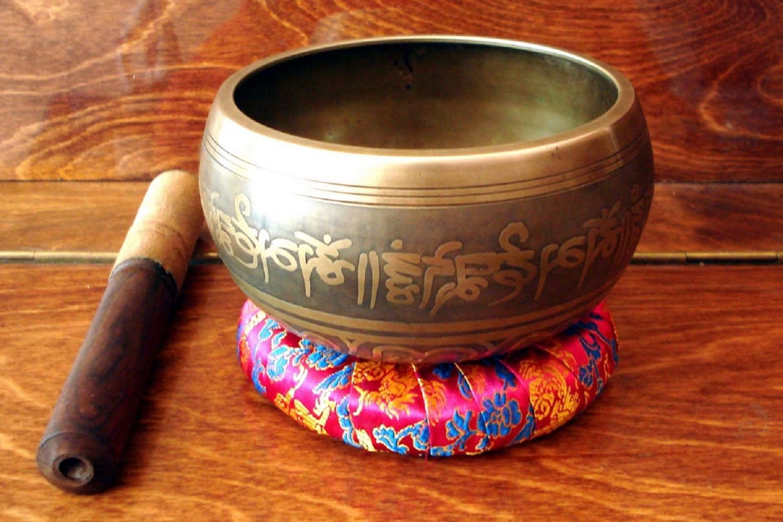 cuenco sanador del Tíbet
