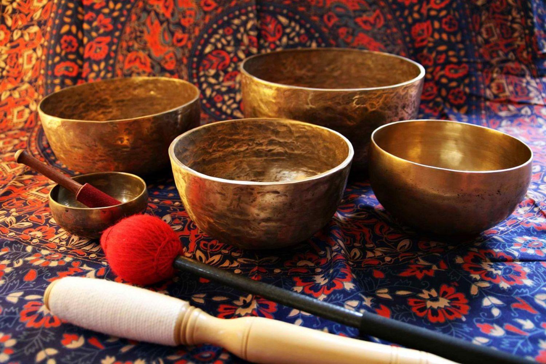 cuencos sanadores del Tíbet