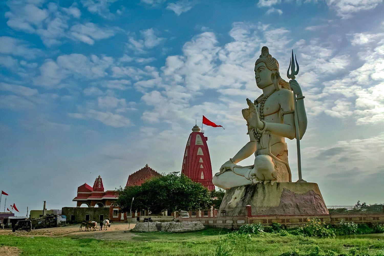 templo en el que adorar el lingam de Shiva