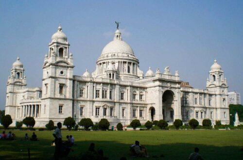 Memorial a la Reina Victoria en Calcuta