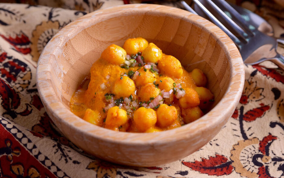 Chana masala patata