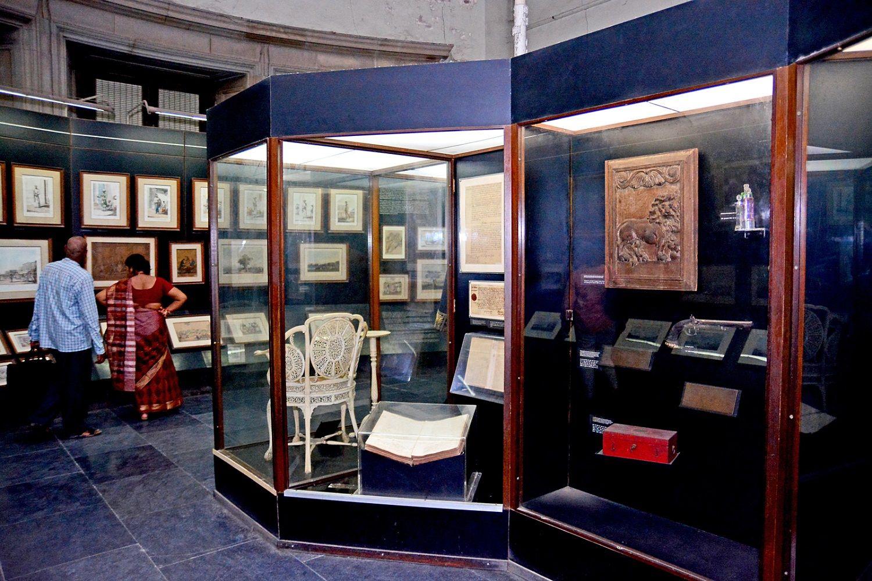 galerías del Victoria Memorial