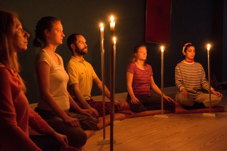 meditación visual en grupo
