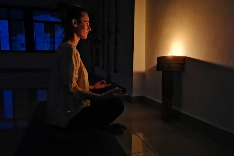 práctica de la meditación visual
